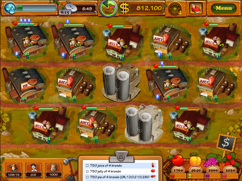 Jogos Made in Brazil: Fruit's Inc. (PC/Mac)