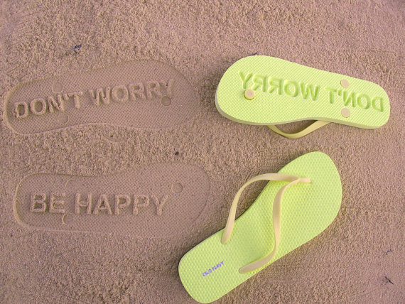 Chinelo Don't Worry Be Happy