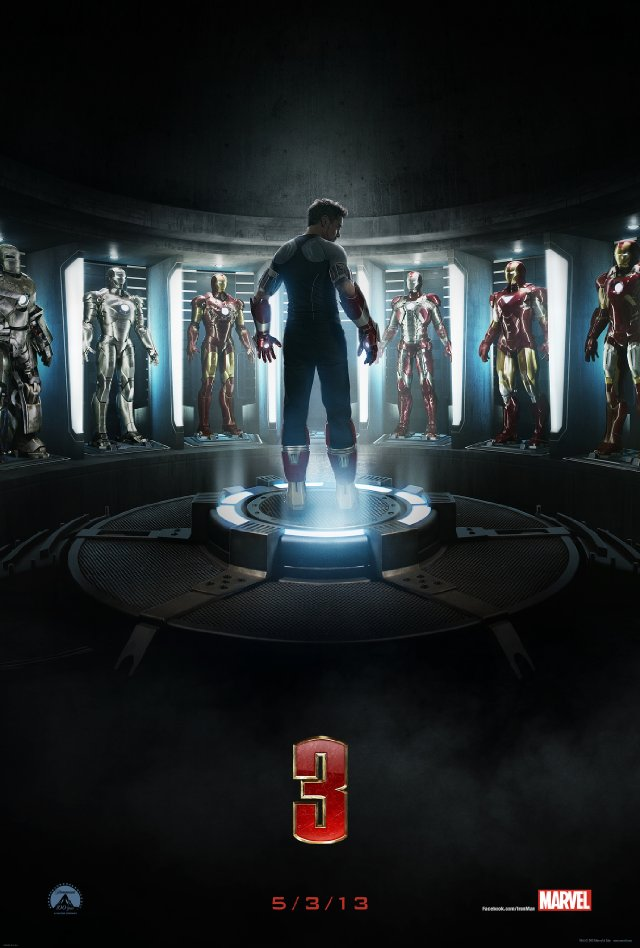 Cartaz do Iron Man 3