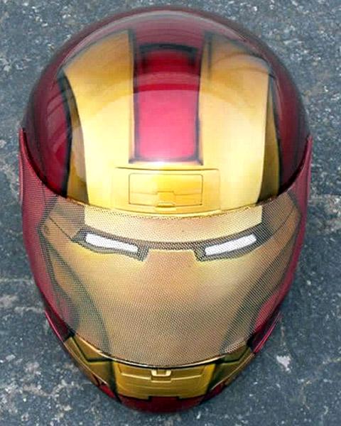 Capacete Iron Man (Homem de Ferro)