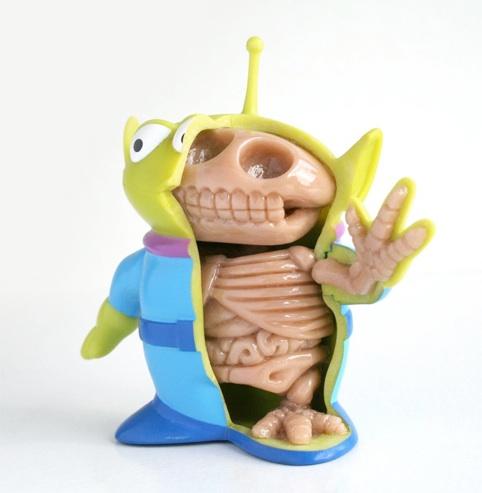 Anatomia do Alien do Toy Story