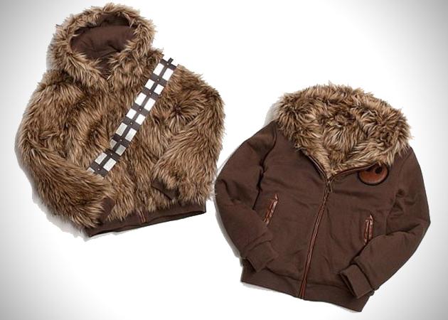 Jaqueta reversível Chewbacca Star Wars