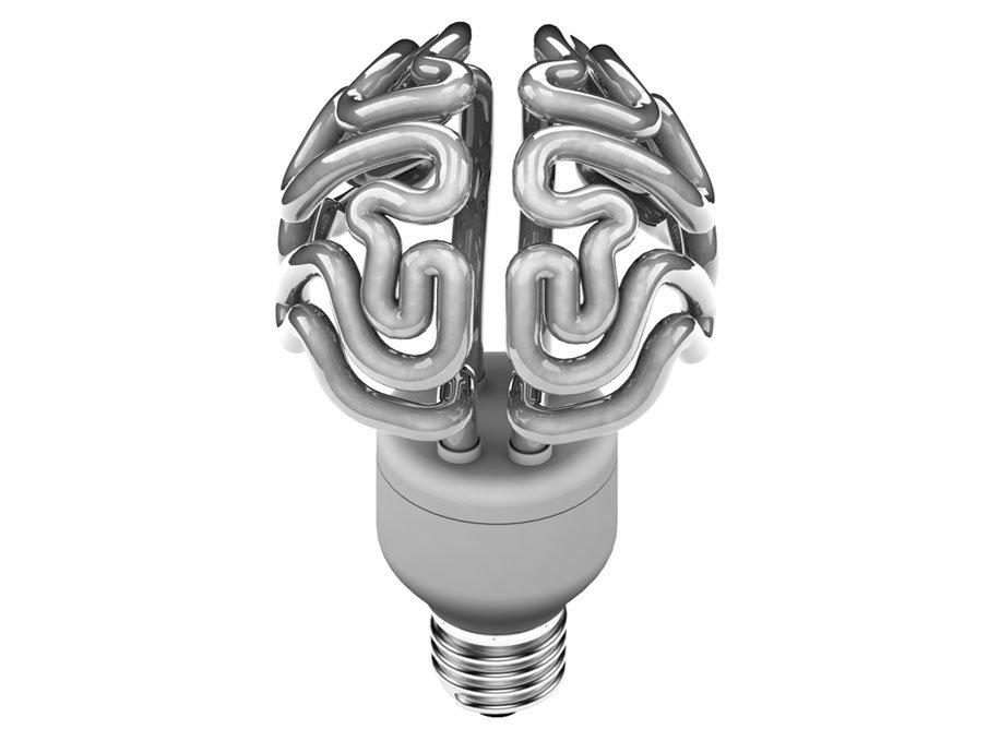 lâmpada cérebro
