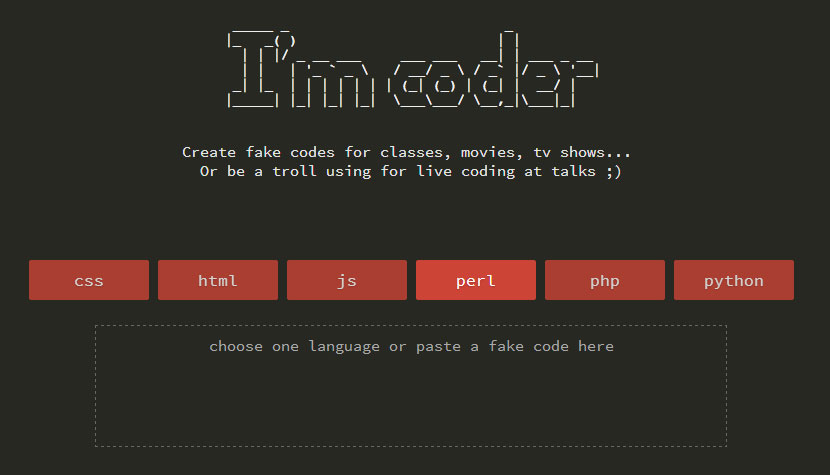 I'm coder