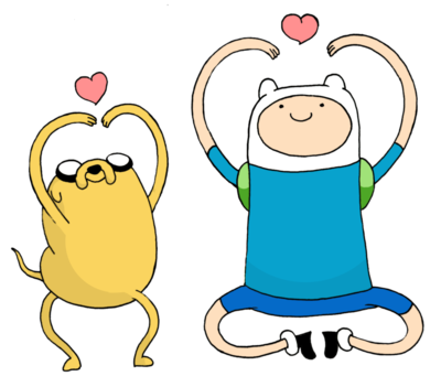 Jake e Finn - Adventure Time
