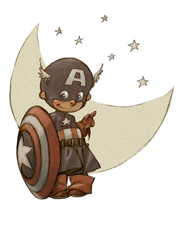 Mini Capitão América